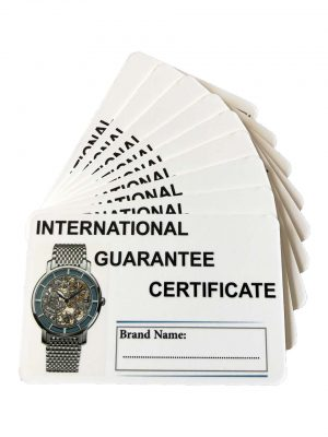 GUARANTEE CARD