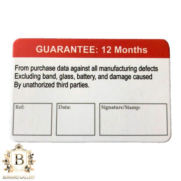 GUARANTEE CARD